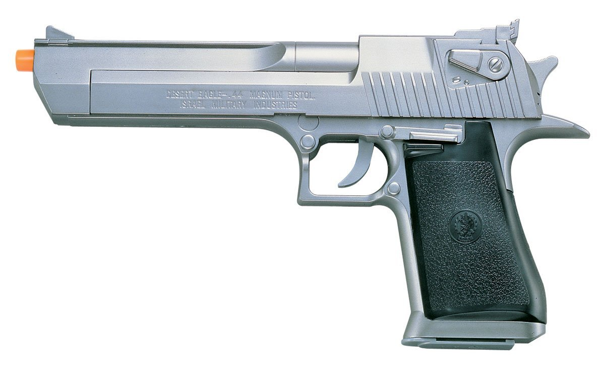 Silver Desert Eagle Airsoft Pistol